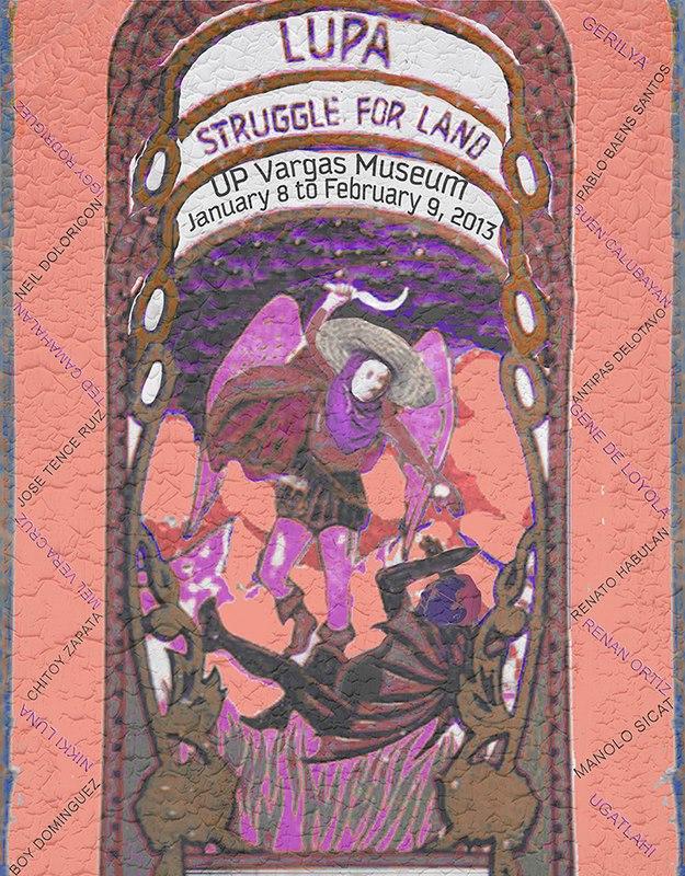 CAP Lupa Struggle for Land Exhibit 2013